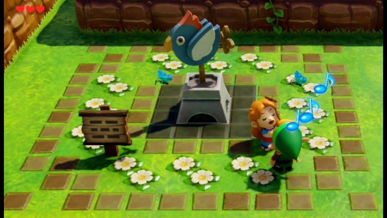 The Legend Of Zelda Link S Awakening Nintendo Switch Marin Sings Ballad Of The Wind Fish