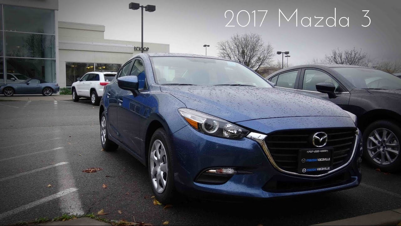 2017 mazda 3 sport 2 0 l 4 cylinder review youtube. Black Bedroom Furniture Sets. Home Design Ideas