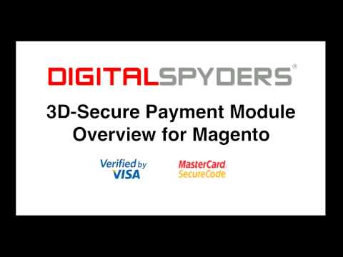Cardinal Commerce 3-D Secure Payments Using Magento
