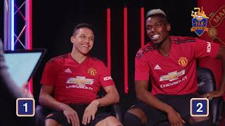 Mastermind challenge with Pogba & Sanchez