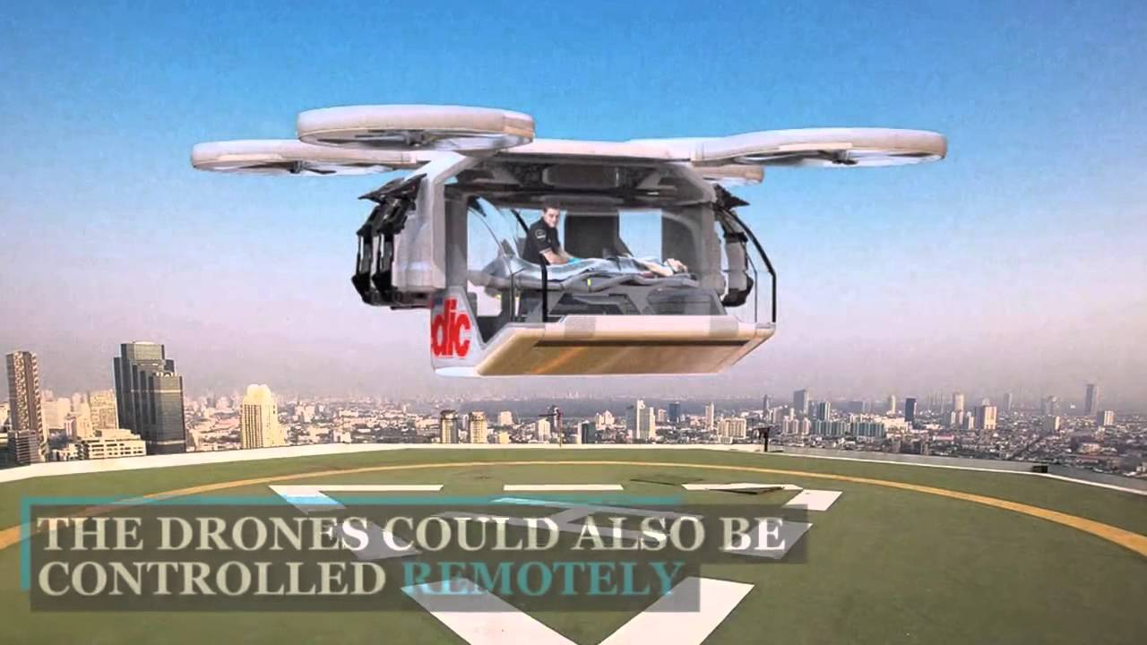 BEST DRONE EVER AMBULANCE CONCEPT