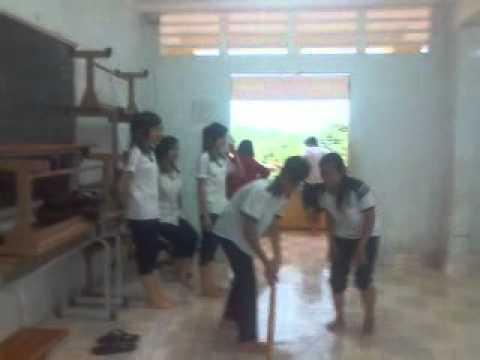 lớp làm biếng nhất trường THPT Bình Thạnh lao động nek.
