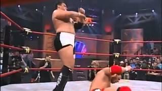 vuclip AJ Styles Vs. Samoa Joe HD Highlights- Sacrifice 2005