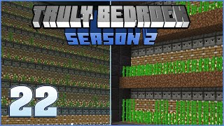 Kelp Farm Finished | Truly Bedrock Season 2 Episode 22 | Minecraft Bedrock Edition