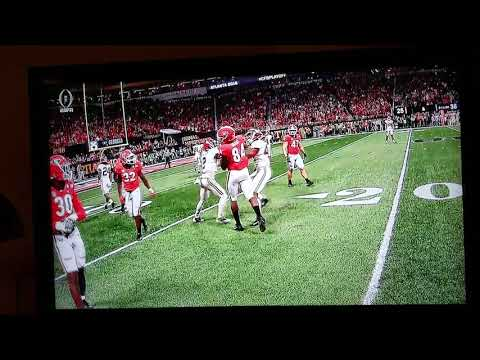 Alabama 48 going nuts in title game