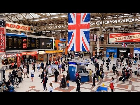 London Victoria Station, London, England