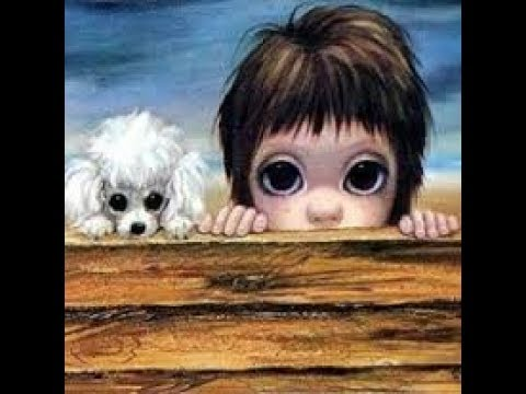 Big Eyes Art Journal - Ode To Margaret Keane