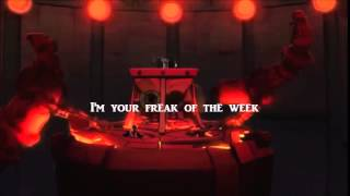 Freak of the Week Lyric Video