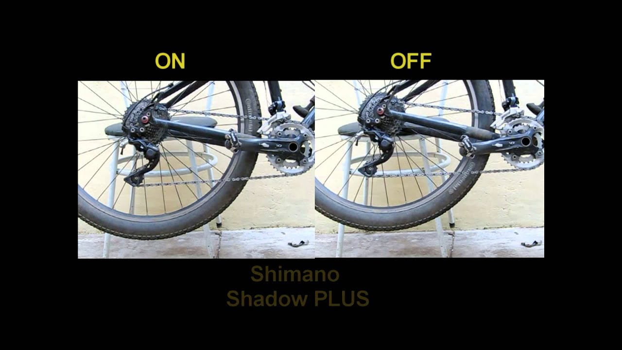 Shimano Xt Shadow Plus Rear Derailleur On And Off