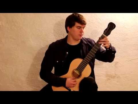 Matteo Carcassi Etude 1 from 25 Etudes op.60 played by Patrik Kleemola