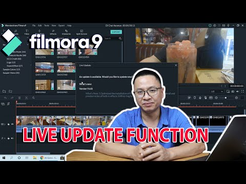 How to Update to the Latest Version of Filmora 9 - Filmora9.6 Live Updat...