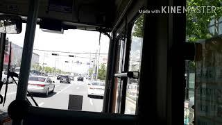 울산453번주행영상 롯데마트진장점~농수산물종합유통센터후…