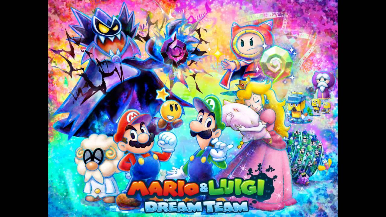 Mario Luigi Dream Team Boss Music