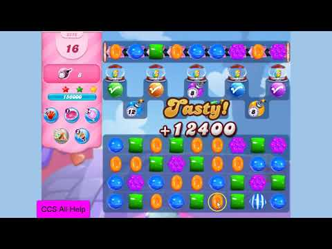 Candy Crush Saga Level 3216 NO BOOSTERS Cookie