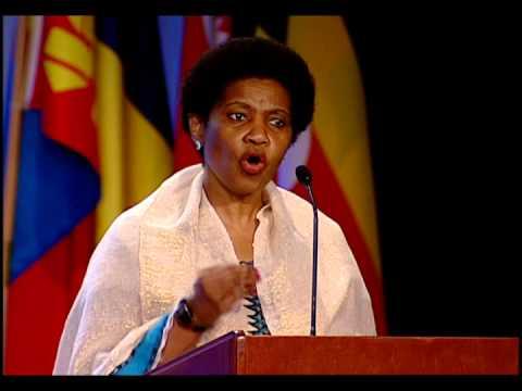 Phumzile Mlambo-Ngcuka, Executive Director of UN Women at Zonta International's 2014 Convention