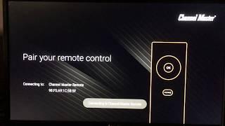 Channel Master Stream+ Android TV DVR Initial Setup Walkthrough