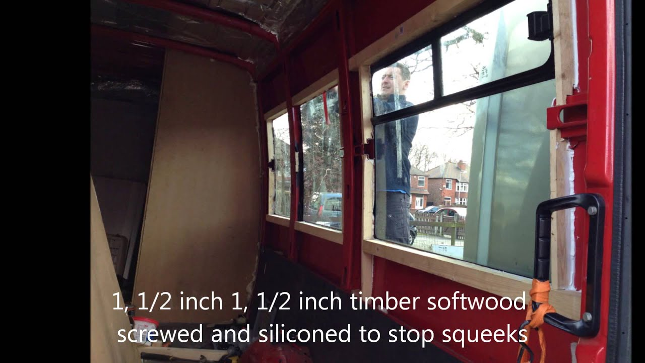 Iveco Daily Off Grid Camper Conversion Fitting Windows