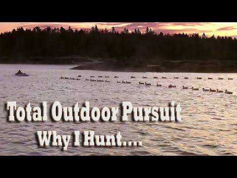 Why I Hunt- Waterfowl Hunting For Ducks In A Layout Boat Sea Duck Hunt For Eiders Scoters & OldSquaw