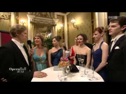 Opernball 2012 - Interview - Ballett - Staatsoper Wien - ORF2