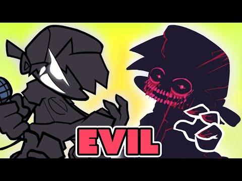FRIDAY NIGHT FUNKIN' mod EVIL Boyfriend vs BF!