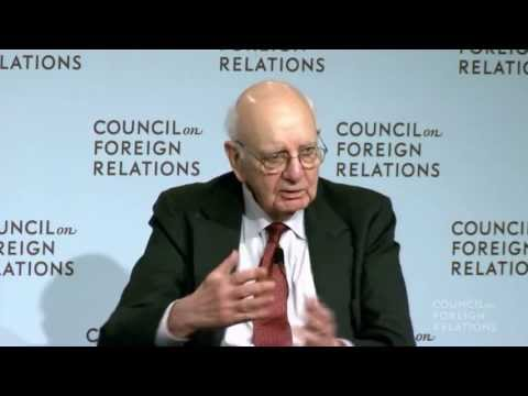 HBO History Makers Series with Paul Volcker