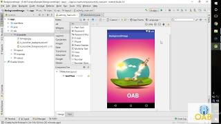 How to set Background Image/Image as Background for Activity in Android studio