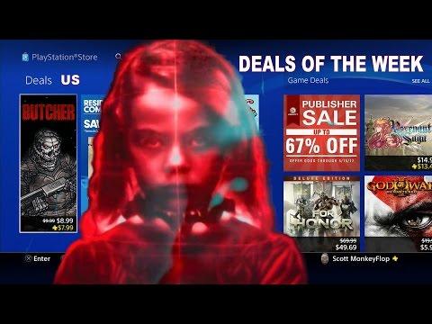 PS4 LOTS ON SALE!! UBISOFT & Santa Monica Studios Sale US
