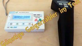 Geigerzähler Test Voltcraft Gamma Check - GQ GMC-300E