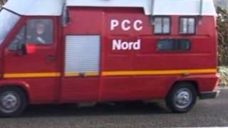 véhicules pompiers !