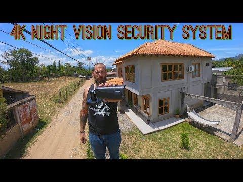 Lorex Technology 4k Security Camera System w/ Night Vision