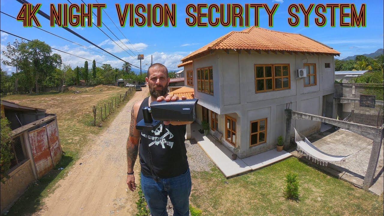 Lorex Technology 4k Security Camera System W Night Vision