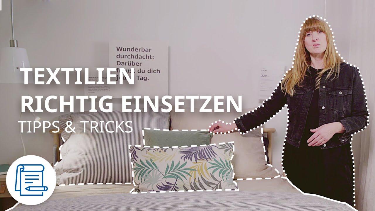 Schlafzimmer wohnlich gestalten | IKEA Tipps & Tricks
