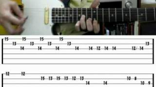 how to play CALIFORNICATION with TAB slane castle intro Red hot chili peppers lesson