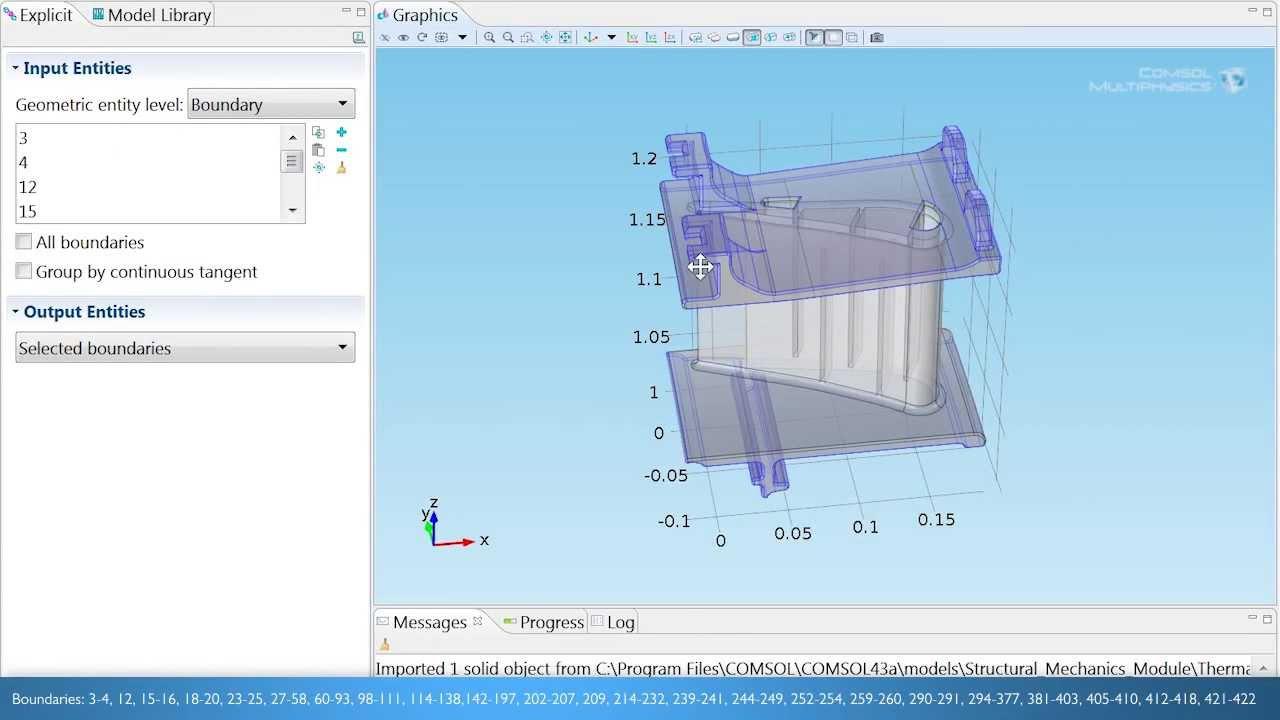 Modeling Heat Transfer In A Turbine Stator Blade Youtube Diagram Of Standard Jet Engine