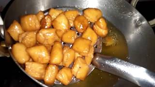 Shankarpauli Recipe / How To make Shankarpali recipe in Kannada / Diwali sweet in Kannada