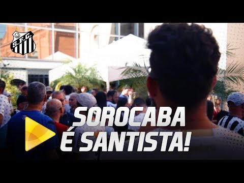 Santos FC inaugura embaixada em Sorocaba!