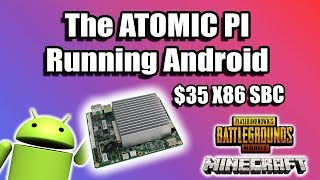 Atomic Pi Intel Atom SBC