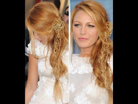 Hairstyle Ispirazione Blake Lively Hair Tutorial