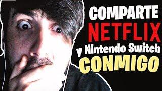 Comparte Netflix y Nintendo Switch Online conmigo ! VIDEO PARA AHORRAR A FULL