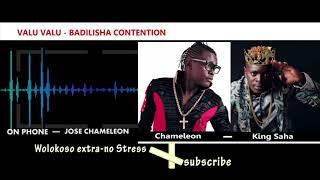 DR. JOSE CHAMELEON responds to King Saha over Valu Valu song ownership MC IBRAH INTERVIEW
