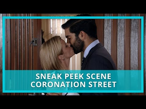 Coronation Street (Corrie) spoilers: Leanne and Imran are caught kissing! Watch the scene