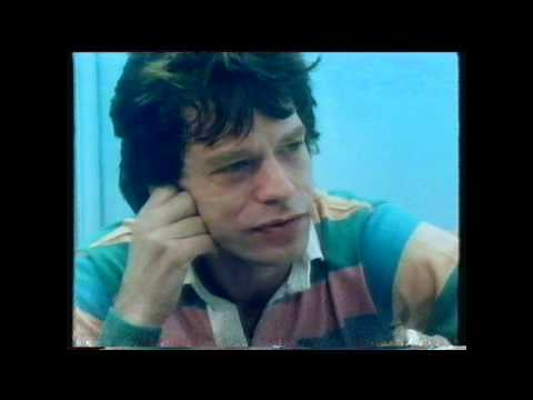 Mick Jagger Paula Yates Interview Bristol Ashton Gate Rolling Stones 1982