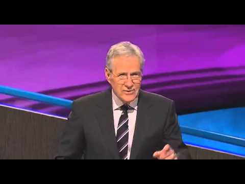 Awkward 'Final Jeopardy' with one contestant is painful to watch (March/12/2015 episode)