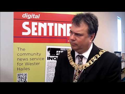 Lord Provost Donald Wilson @ Digital Sentinel Launch