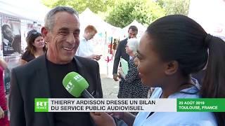«Tout ce qui limite la liberté d'expression est dangereux» : Thierry Ardisson répond à RT France