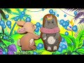 Бегемоти и розовый шарфик