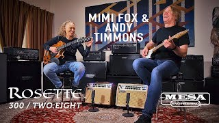 MESA Rosette® – Mimi Fox and Andy Timmons – Rosette for Jazz