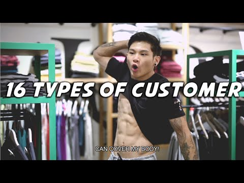 16 Types Of Customer | Shawn Lee