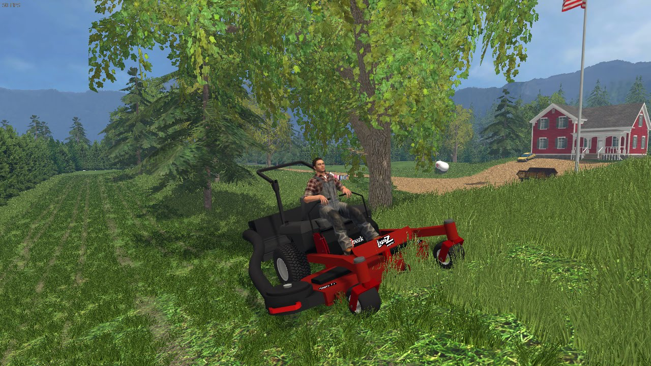 Farming Simulator 15 Lawn Care Ep #21 Starting On The ...