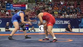 1/2 WW - 73 kg: N. YAMAMOTO (JPN) v. O. KOZYREVA (RUS)